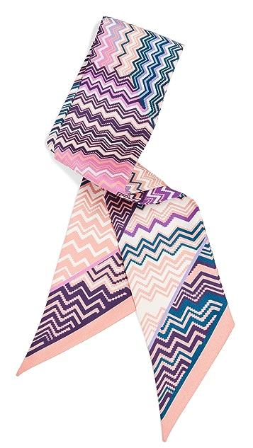 Missoni Silk Tie Headband