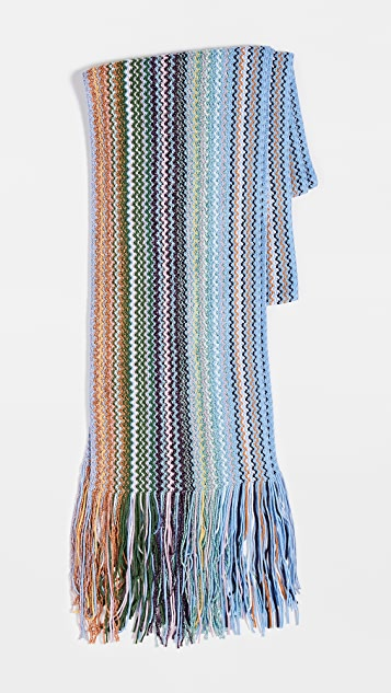 Missoni Long Skinny Scarf