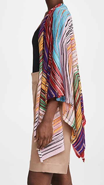 Missoni Open Front Cardi Style Poncho