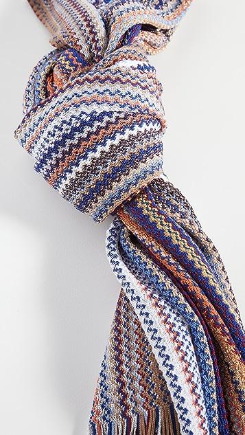 Missoni 人字纹围巾