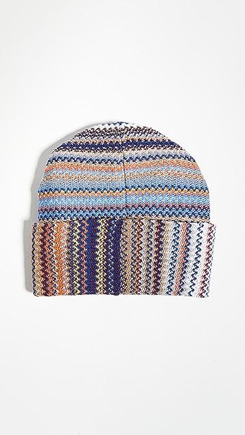Missoni 人字纹毛线帽
