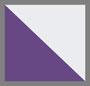 紫色/白色