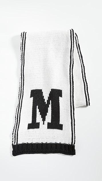 Missoni M Logo Scarf