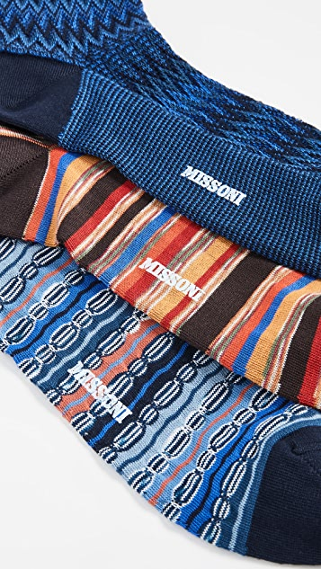 Missoni Trio Socks Gift Box