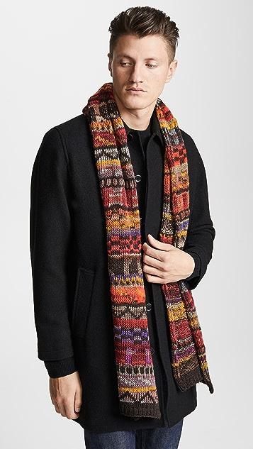 Missoni Variegated Knit Scarf