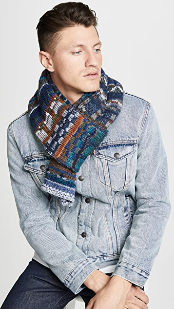 Missoni Variegated Knit Scarf