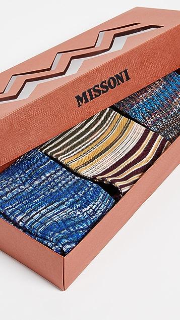 Missoni Trio Socks Gift Box