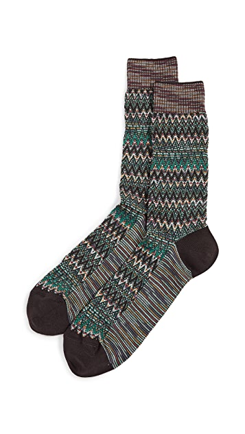 Missoni Textured Socks