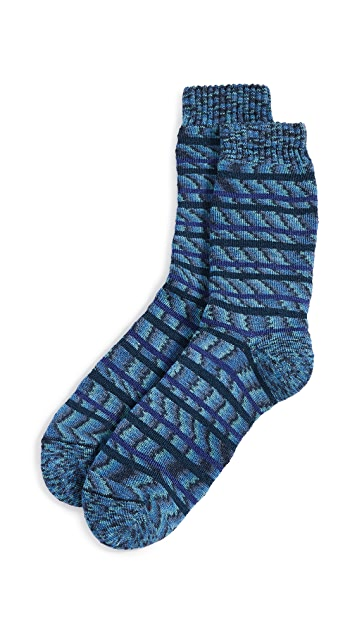 Missoni Stripe Printed Socks