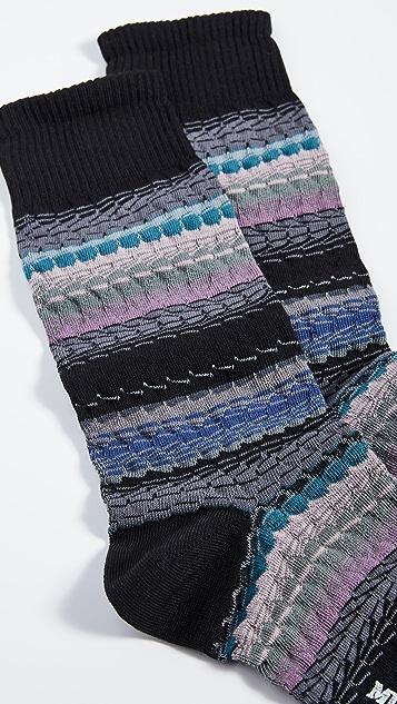 Missoni Multi Striped Socks