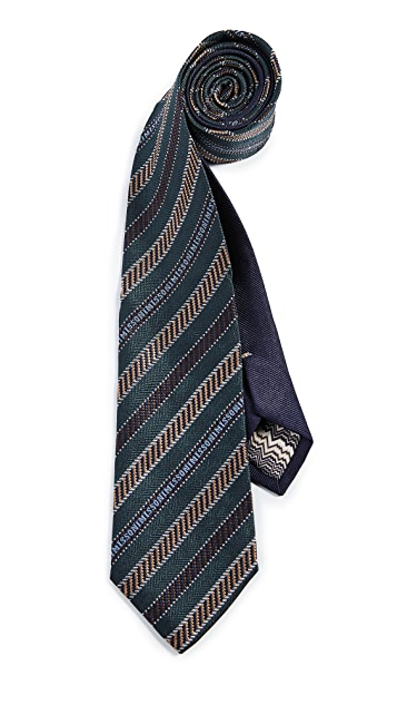 Missoni Multi Striped Tie