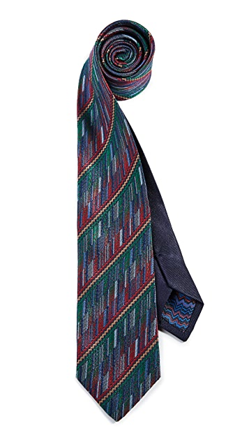 Missoni Straited Micro Striped Tie