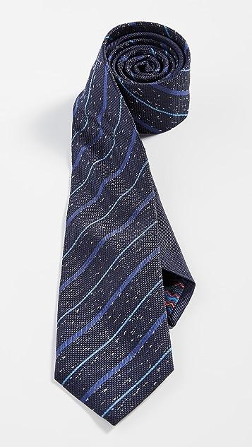 Missoni Mottled Striped Tie