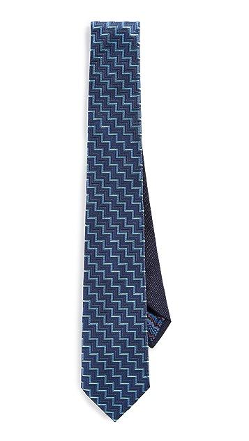 Missoni Zigzag Print Tie
