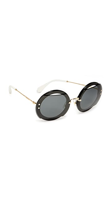 38dc39713c32 Miu Miu Reveal Sunglasses