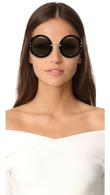 618dd4861821 Miu Miu Reveal Sunglasses  Miu Miu Reveal Sunglasses ...