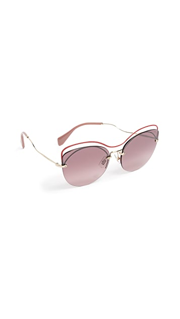 Miu Miu Evolution Sunglasses