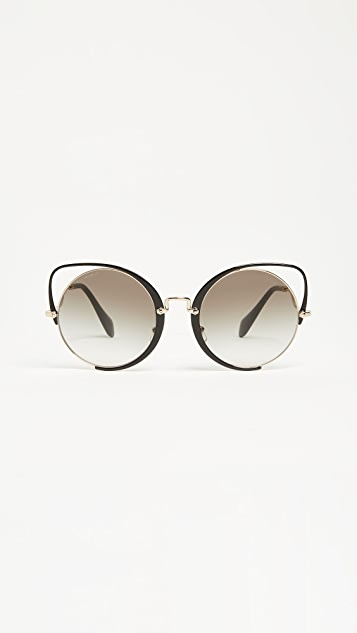 eb030175d0c0 Miu Miu Scenique Evolution Sunglasses