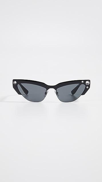 Miu Miu Narrow Cat Eye Sunglasses