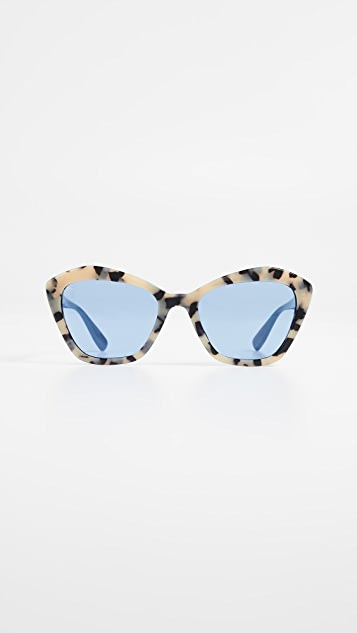 cc2620b47b74 Miu Miu Acetate Cat Eye Sunglasses