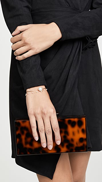 Mizuki 14K 金珍珠手链