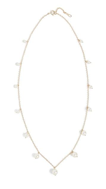 Mizuki 淡水养殖珍珠分段项链
