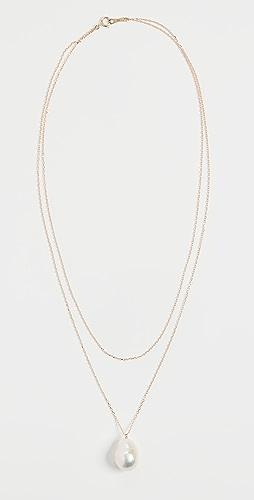 Mizuki - Freshwater Pearl Double Wrap Necklace