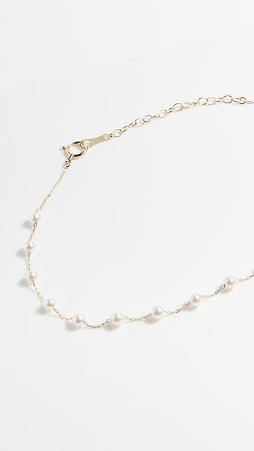 Mizuki Akoya 珍珠踝链