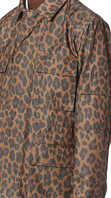 Marc Jacobs Geo Leopard Field Coat