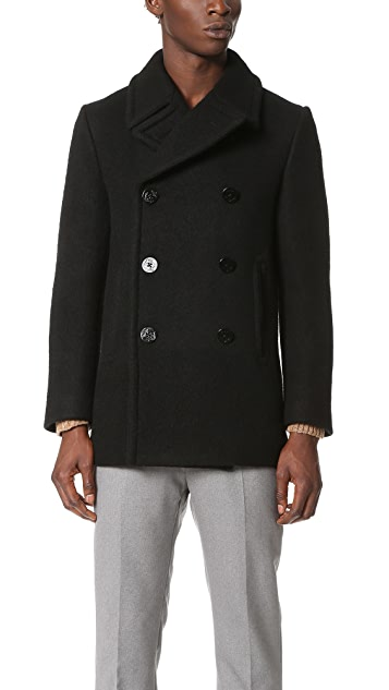 Marc Jacobs Brushed Felt Peacoat