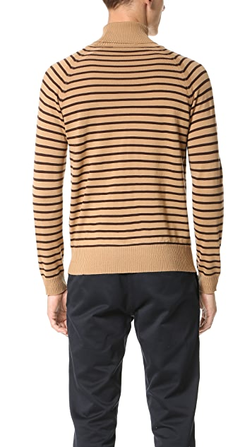 Marc Jacobs Stevie Stripe Turtleneck Sweater