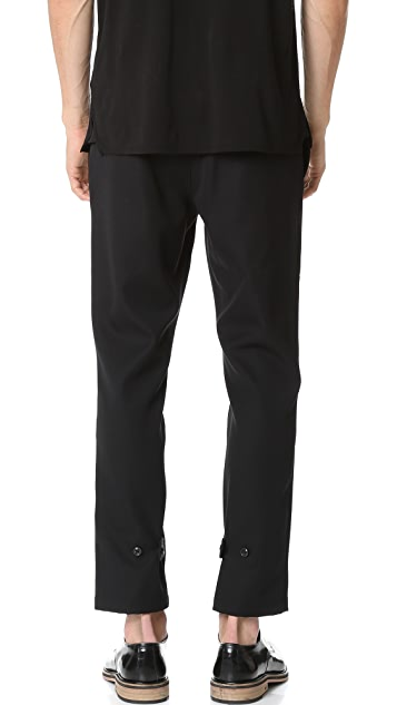 Marc Jacobs Strictly Twill Tab Pants