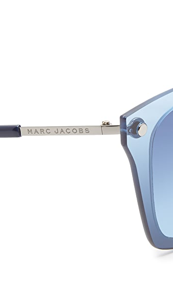 Marc Jacobs Solid Sunglasses