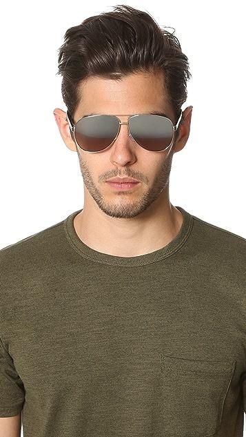 Marc Jacobs Metal Aviator Sunglasses