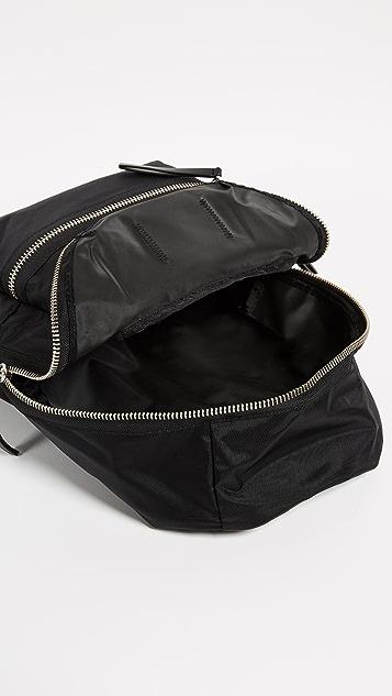 Marc Jacobs Нейлоновый рюкзак в байкерском стиле