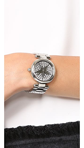 The Marc Jacobs Dotty Pave Star Watch