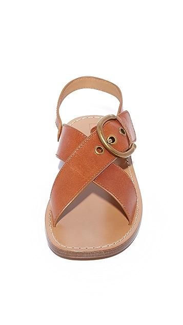 Marc Jacobs Patti Flat Sandals
