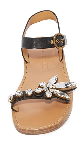 Marc Jacobs Rivington Embellished Sandals