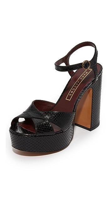 6e77620e5805c Debbie Platform Sandals