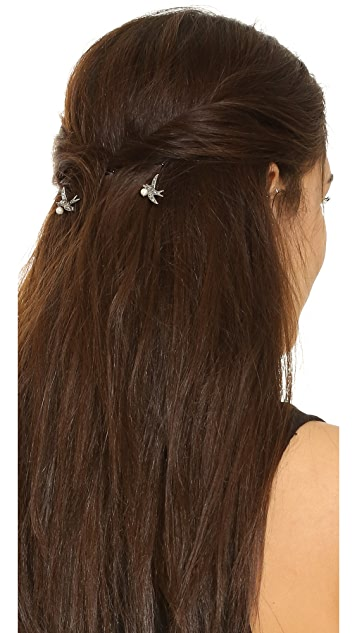 Marc Jacobs Swallow Imitation Pearl Bobby Pins