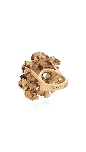 Marc Jacobs Коктейльное кольцо с крупным цветком