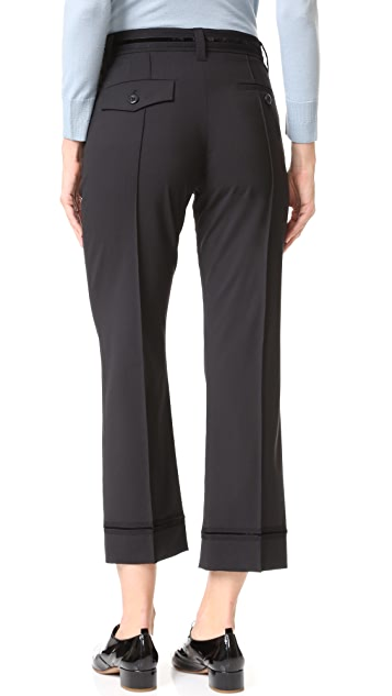 Marc Jacobs Cropped Bowie Pants