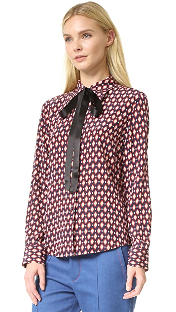 Marc Jacobs Button Down Shirt with Tie