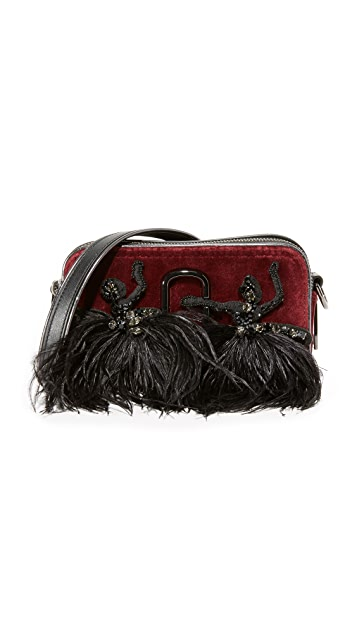 Marc Jacobs Velvet Snapshot Small Camera Bag