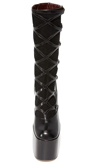 Marc Jacobs Dede Platform Button Boots
