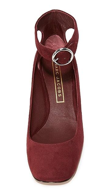 Marc Jacobs Kerry Ankle Strap Pumps