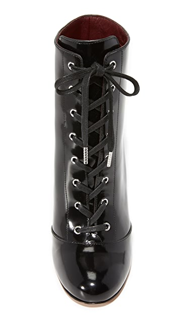 The Marc Jacobs Tori Lace Up Booties
