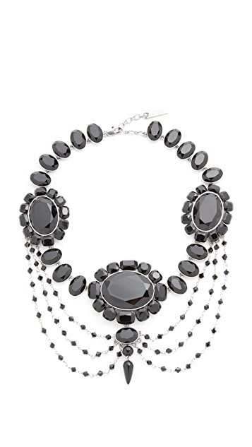 Marc Jacobs Jet Night Statement Necklace
