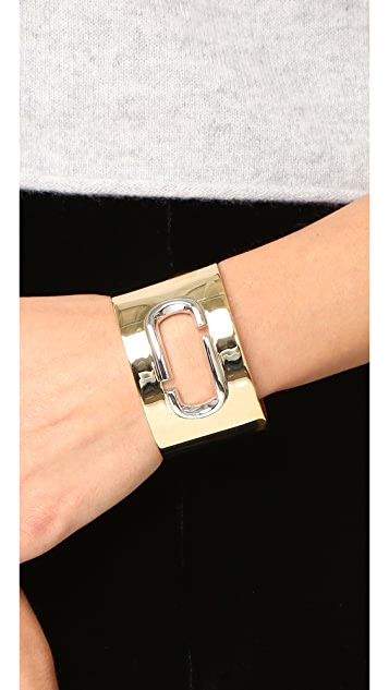 Marc Jacobs Icon Statement Cuff Bracelet