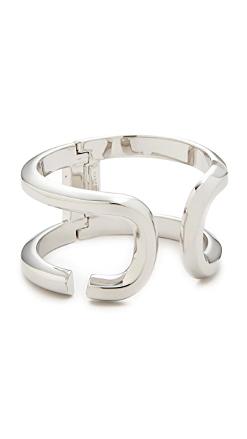 The Marc Jacobs Icon Open Hinge Cuff Bracelet